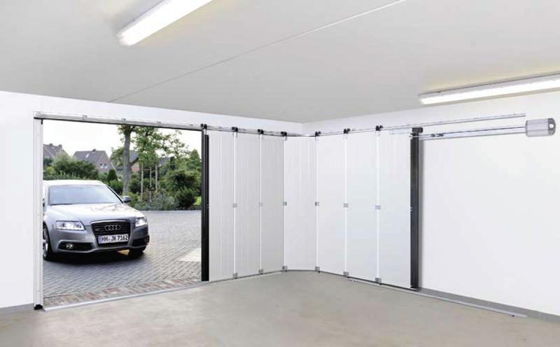 Подъемные секционные гаражные ворота своими руками видео